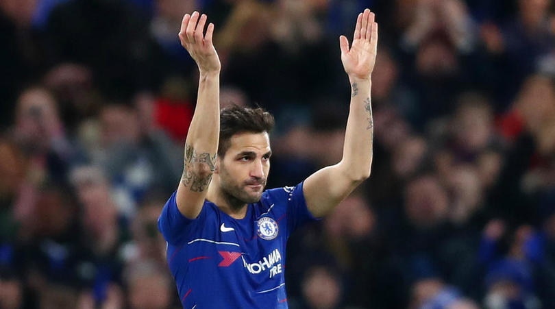 Departing star Fabregas' EPL career in numbers