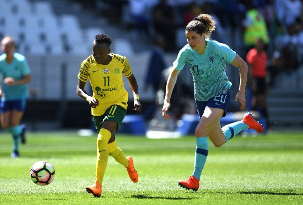 Banyana edged by Netherlands in Cape Town