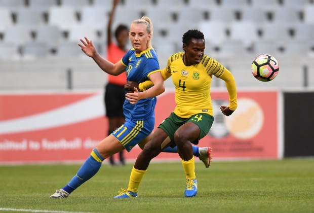 Banyana hold Sweden in Cape Town