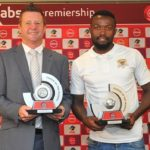 Dylan Kerr coach of Black Leopards and Mwape Musonda