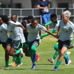 Gv of South Africa players during the South Africa afternoon Training on the 14 January 2019 at Ikamva / Pic Sydney Mahlangu/BackpagePix