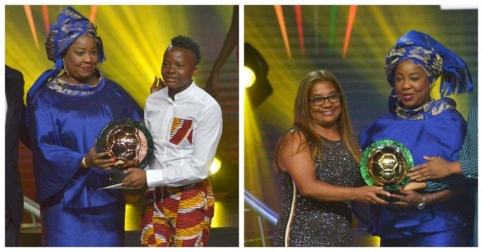 Banyana Banyana coach Desiree Ellis and forward Thembi Kgatlana