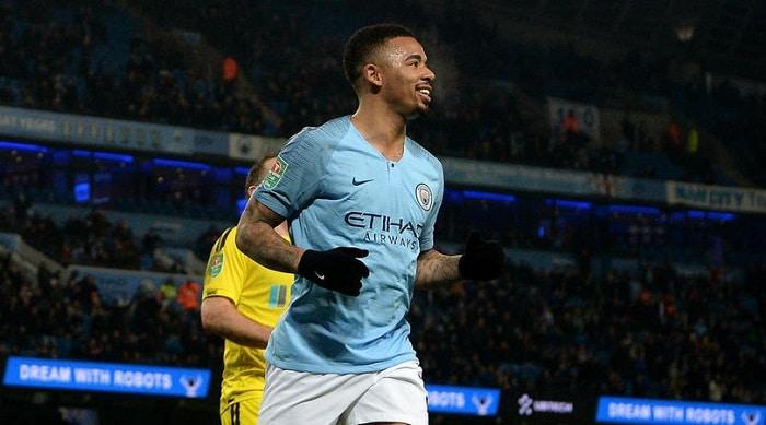 Man City trounce Burton