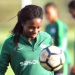 Banyana Banyana striker Ode Fulutudilu