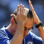 Maurizio Sarri of Chelsea