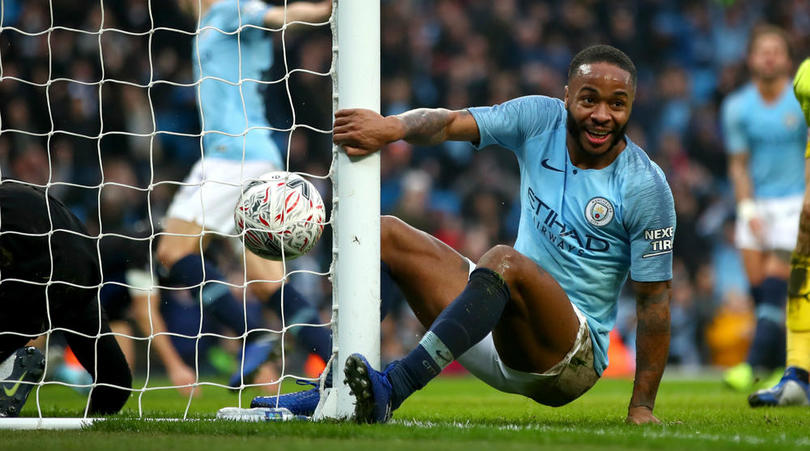 Raheem Sterling of Manchester City