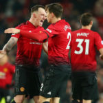 Victor Lindelof and Phil Jones of Manchester United