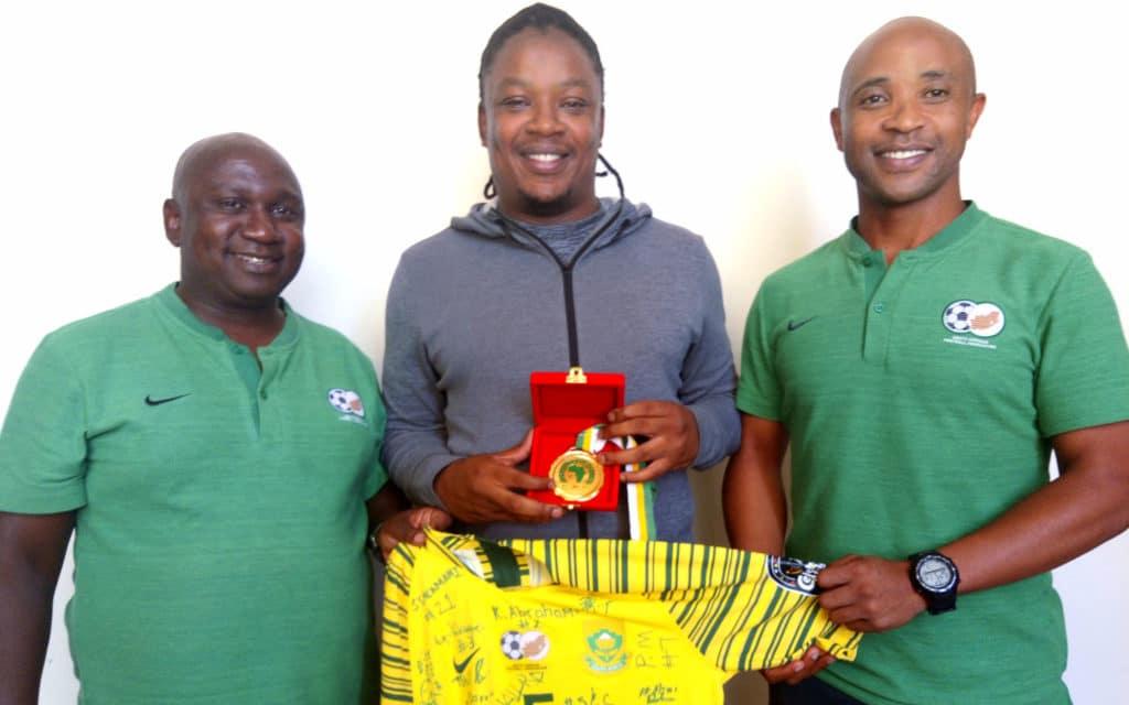 Caf coordinator dedicates Afcon medal to Meyiwa