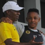 Kaizer Chiefs legend Donald 'Ace' Khuse and midfielder Hendrick Ekstein