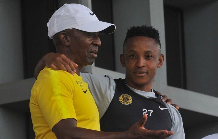 Kaizer Chiefs legend Donald 'Ace' Khuse and midfielder Hendrick Ekstein
