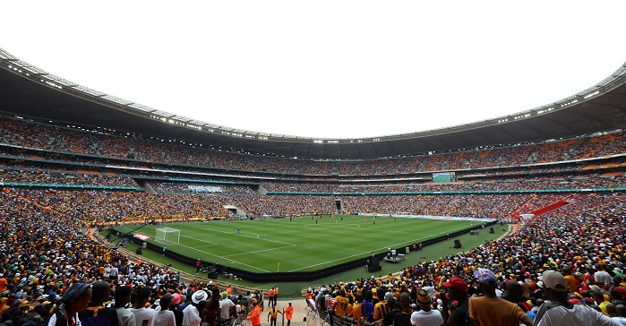 Kaizer Chiefs vs Orlando Pirates in the Soweto derby