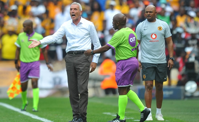 Ernst Middendorp coach of Kaizer Chiefs