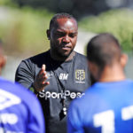 Benni McCarthy during a training session at Hartleyvale