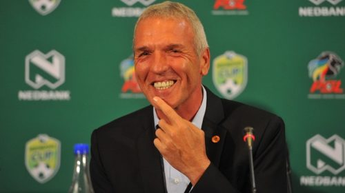 Ernst Middendorp coach of Kaizer Chiefs