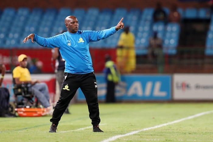 Pitso Mosimane, coach of Mamelodi Sundowns