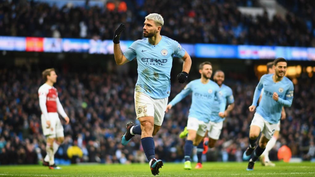 Sergio Aguero stars as Manchester City bounce back 9ef64a1ed7b6