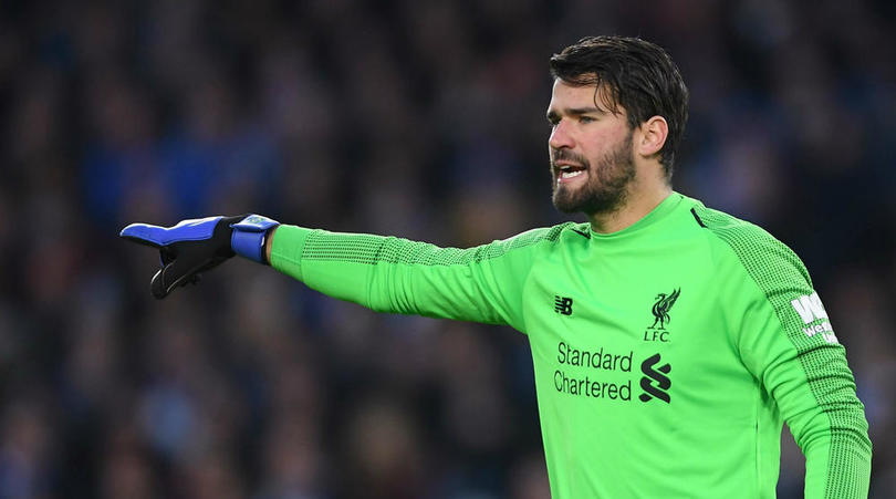 Alisson: Liverpool have to win everything