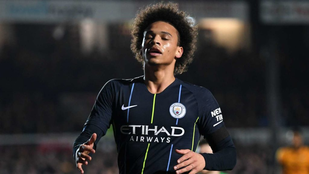 Leroy Sane of Manchester City