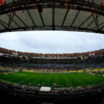 Flamengo's home stadium the Maracana