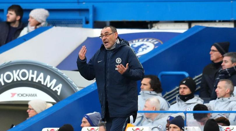 Sarri: Chelsea's mentality needs to change