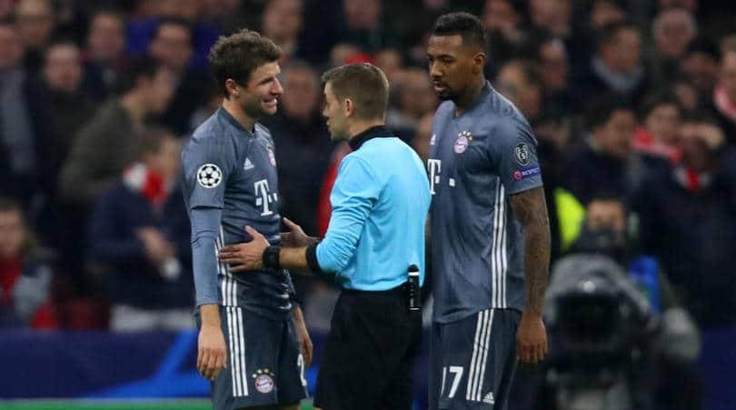 Thomas Muller of Bayern Munich