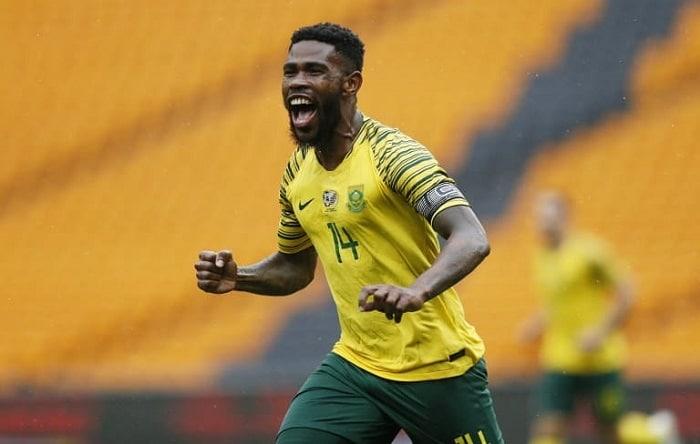 Thulani Hlatshwayo of Bafana Bafana
