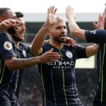 Man City back top with win at Fulham
