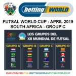SA drawn in tough Futsal WC group