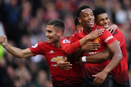 Rashford, Martial fire United past Watford