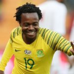 Percy Tau of Bafana Bafana