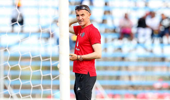Milutin Sredojevic, coach of Orlando Pirates