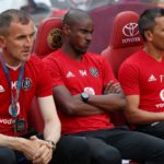 Orlando Pirates coaching trio of Milutin Sredojevic, Rhulani Mokwena and Fadlu Davids