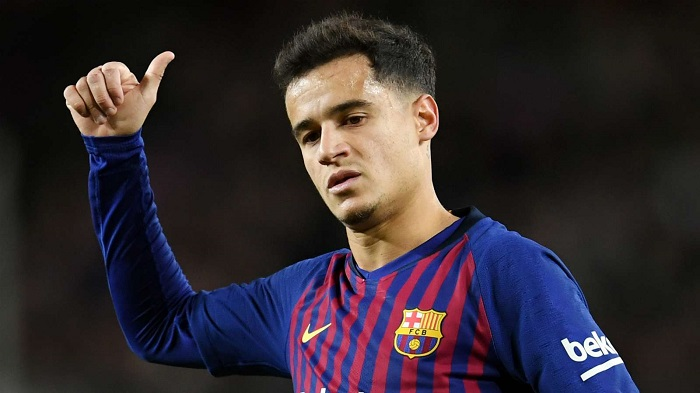 Philippe Coutinho of Barcelona