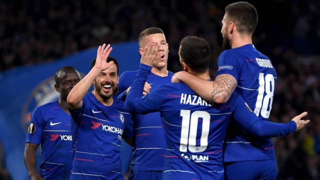 Chelsea survive Slavia scare to book semis spot