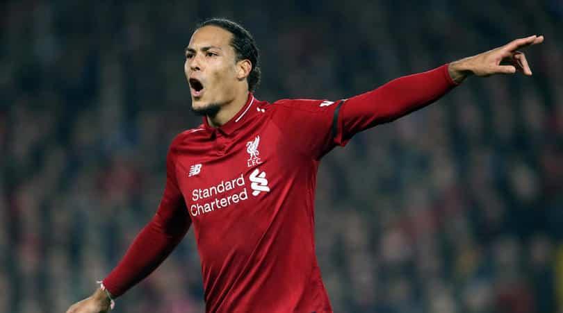 Van Dijk training boost for Liverpool