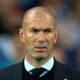 Real Madrid's coach Zinedine Zidane