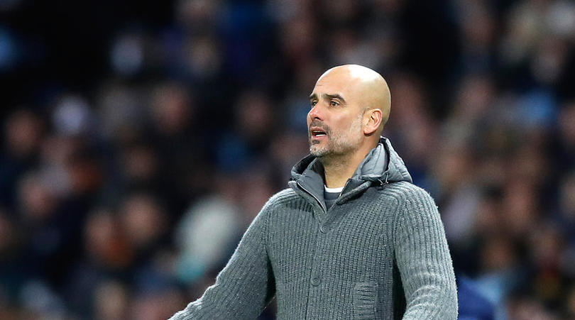 Guardiola calls on City fans to find their voice