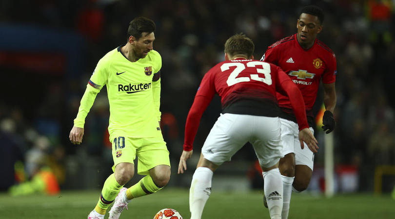 Messi outshines Pogba as Barca leave with the advantage