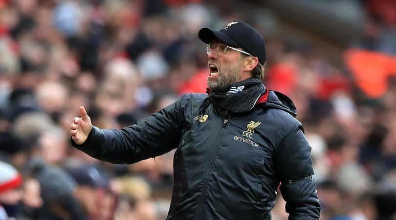 Klopp sets target for Liverpool