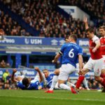 Arsenal dealt top-four blow by Everton