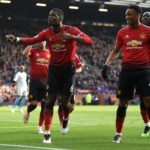 Two Pogba penalties send Man Utd fifth