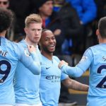 Sterling brace sends Man City top