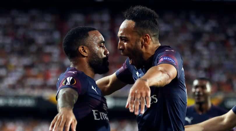 Arteta relishing having Aubameyang and Lacazette back in Arsenal fold