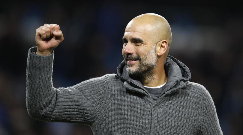 Manchester City eye first treble by English club