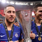 Hazard admits UEL win is likely to be his Chelsea 'goodbye'