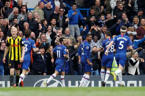 Chelsea up to third with Watford win