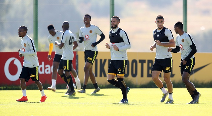 Kaizer Chiefs training session