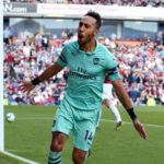 Auba brace secures fifth place for Arsenal