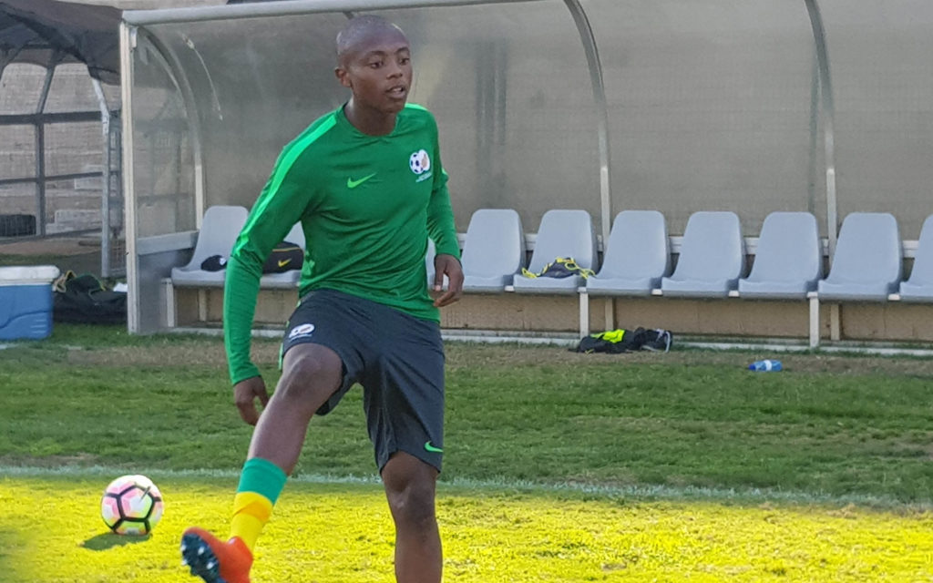 'I want to be the answer to Bafana's scoring crisis'