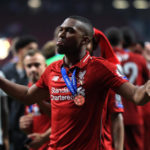 Liverpool's Daniel Sturridge celebrates victory after winning the UEFA Champions League Final at the Wanda Metropolitano, Madrid.